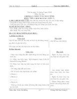 Giáo án tin học lớp 3 theo tuần 4