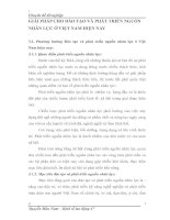 GIẢI PHÁP CHO ĐÀO TẠO VÀ PHÁT TRIỂN NGUỒN NHÂN LỰC Ở VIỆT NAM HIỆN NAY