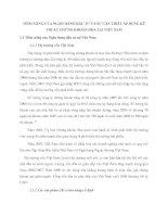 TIỀM NĂNG CỦA NGÂH HÀNG ĐẦU TƯ VÀ SỰ CẦN THIẾT ÁP DỤNG KỸ THUẬT CHỨNG KHOÁN HÓA TẠI VIỆT NAM