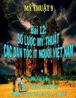 Cac Bai Mau Ve Trang Tri
