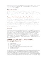 Jini- Sun''s Technology of Impromptu Networks