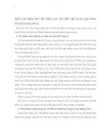 MỘT VÀI NHẬN XÉT VỀ CÔNG TÁC TỔ CHỨC KẾ TOÁN TẠI CÔNG TY XÂY DỰNG SỐ 34