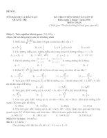 36 đề - đáp án thi vào 10