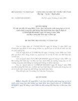 QĐ 24-2008-QĐ-BGDĐT Sua doi, bo sung dieu 3 cua QD12.2006