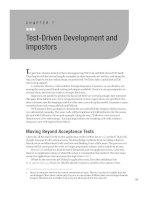 Test-Driven Development and Impostors