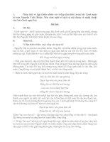 bài văn mẫu lớp 10