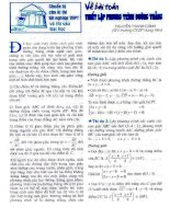 chuyen de luyen thiTHTT book.vnmath.com
