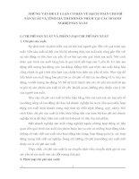 NHỮNG VẤN ĐỀ LÝ LUẬN CƠ BẢN VỀ HẠCH TOÁN CHI PHÍ SẢN XUẤT VÀ TÍNH GIÁ THÀNH SẢN PHẨM TẠI CÁC DOANH NGHIỆP SẢN XUẤT