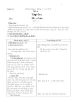 Giáo án lớp 2-Tuần 11