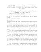 CHƯƠNG II THỰC TRẠNG MỘT SỐ NỘI DUNG CỦA CÔNG TÁC QUẢN LÝ NHÂN SỰ TẠI CÔNG TY CỔ PHẦN SỬA CHỮA ÔTÔ GANG THÉP