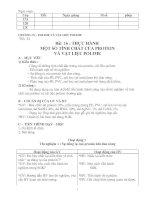 GDTX: tiết 24- bài 16 thực hành. một số tính chất của protein và vật liệu polime