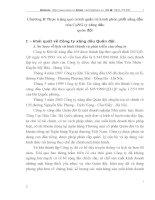 Chương II Thực trạng quá trình quản trị kênh phân phối xăng dầu của CôNG ty xăng dầu