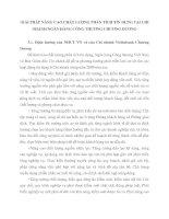 GIẢI PHÁP NÂNG CAO CHẤT LƯỢNG PHÂN TÍCH TÍN DỤNG TẠI CHI NHÁNH NGÂN HÀNG CÔNG THƯƠNG CHƯƠNG DƯƠNG