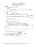 Đề cương ôn tập Ngữ Văn lớp 12Cb, (TĐ)