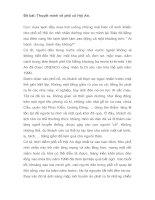 Bài văn hay: Tập làm Văn lớp 9- Đề bài: Thuyết minh về Phố cổ Hội An