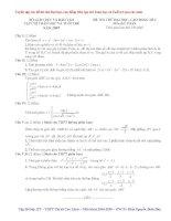 Tuyển tập các đề thi thử Đại Học  Phần 3