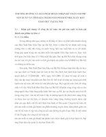 PHƯƠNG HUỚNG VÀ GIẢI PHÁP HOÀN THIỆN KẾ TOÁN CHI PHÍ SẢN XUẤT VÀ TÍNH GIÁ THÀNH SẢN PHẨM Ở NHÀ XUẤT BẢN GIÁO DỤC TẠI HÀ NỘI
