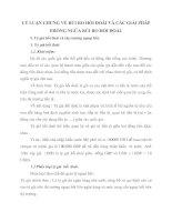 LÝ LUẬN CHUNG VỀ RỦI RO HỐI ĐOÁI VÀ CÁC GIẢI PHÁP PHÒNG NGỪA RỦI RO HỐI ĐOÁI