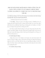 MỘT SỐ GIẢI PHÁP NHẰM HOÀN THIỆN CÔNG TÁC KẾ TOÁN TIỀN LƯƠNG VÀ CÁC KHOẢN TRÍCH THEO LƯƠNG TẠI CÔNG TY TNHH VẬN TẢI VÀ THƯƠNG MẠI THẾ HỆ