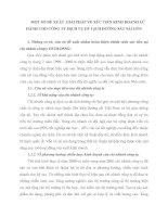 MỘT SỐ ĐỀ XUẤT  GIẢI PHÁP VỀ XÚC TIẾN KINH DOANH LỮ HÀNH CHO CÔNG TY DỊCH VỤ DU LỊCH ĐƯỜNG SẮT SÀI GÒN