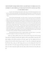 MỘT SỐ KIẾN NGHỊ NHẰM NÂNG CAO KẾT QUẢ VÀ HIỆU QUẢ CỦA NGHIỆP VỤ BẢO HIỂM VẬT CHẤT XE Ô TÔ NƯỚC NGOÀI TẠI CÔNG TY BẢO HIỂM PJICO