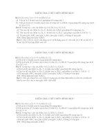 Đề kiểm tra 1 tiết hình học lớp 11 cb