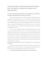 XÂY DỰNG CHIẾN LƯỢC KINH DOANH MÁY TÍNH ĐỂ BÀN CỦA CÔNG TY CỔ PHẦN HUETRONICS GIAI ĐOẠN 2005