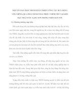 MỘT SỐ GIẢI PHÁP NHẰM HOÀN THIỆN CÔNG TÁC HUY ĐỘNG VỐN THÔNG QUA PHÁT HÀNH TRÁI PHIẾU CHÍNH PHỦ TẠI KHO BẠC NHÀ NƯỚC LẠNG SƠN TRONG THỜI GIAN TỚI