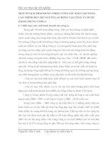 MỘT SỐ GIẢI PHÁP HOÀN THIỆN CÔNG TÁC ĐÀO TẠO NÂNG CAO TRÌNH ĐỘ CHO NGƯỜI LAO ĐỘNG TẠI CÔNG TY DƯỢC PHẨM TRUNG ƯƠNG I
