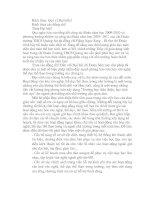 MỘT SỐ GIẢI PHÁP NÂNG CAO CHẤT LƯỢNG HOẠT ĐỘNG VĂN HÓA VĂN NGHỆ-THỂ DỤC THỂ THAO TRONG TRƯỜNG HỌC