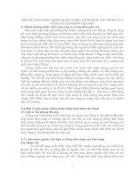 MỘT SỐ GIẢI PHÁP NHẰM HOÀN THIỆN TÌNH HÌNH TÀI CHÍNH CỦA CÔNG TY XÀ PHÒNG HÀ NỘI