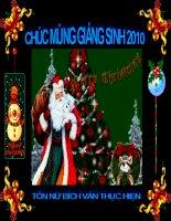 Chuc Giáng sinh vui và hạnh phúc