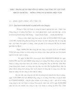 THỰC TRẠNG QUẢN TRỊ VỐN LƯU ĐỘNG TẠI CÔNG TY VẬT TƯ KỸ THUẬT XI MĂNG –TỔNG CÔNG TY XI MĂNG VIỆT NAM