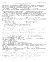 Đề thi thử ĐH&CĐ lần 1(Dao động cơ&Sóng)
