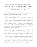 PHÂN TÍCH VÀ ĐÁNH GIÁ THỰC TRẠNG VẤN ĐỀ TẠO ĐỘNG LỰC CHO NGƯỜI LAO ĐỘNG THÔNG QUA CÔNG TÁC KHUYẾN KHÍCH VẬT CHẤT VÀ TINH THẦN TẠI CÔNG TY CP THẾ GIỚI SỐ TRẦN ANH