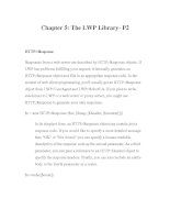 Web Client Programming with Perl-Chapter 5: The LWP Library- P2