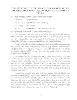 TÌNH HÌNH THỰC TẾ CÔNG TÁC KẾ TOÁN NGUYÊN VẬT LIỆU VỚI VIỆC NÂNG CAO HIỆU QUẢ SỬ DỤNG VỐN TẠI CÔNG TY DỆT 8-3