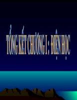 Vat ly 9: Tong ket chuong I ( Dien hoc )