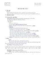 GIÁO ÁN NGỮ VĂN 6  TUẦN 17