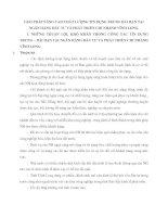 GIẢI PHÁP NÂNG CAO CHẤT LƯỢNG TÍN DỤNG TRUNG DÀI HẠN TẠI NGÂN HÀNG ĐẦU TƯ VÀ PHÁT TRIỂN CHI NHÁNH VĨNH LONG