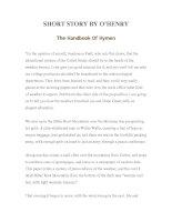 LUYỆN ĐỌC TIẾNG ANH QUA TÁC PHẨM VĂN HỌC-SHORT STORY BY O'HENRY -The Handbook Of Hymen