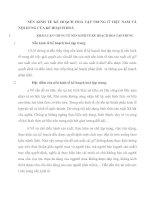 NỀN KINH TẾ KẾ HOẠCH HOÁ TẬP TRUNG Ở VIỆT NAM VÀ NỘI DUNG CỦA KẾ HOẠCH HOÁ