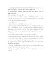 CÁC GIẢI PHÁP NHẰM HOÀN THIỆN CÔNG TÁC ĐÀO TẠO VÀ PHÁT TRIỂN TẠI CÔNG TY XÂY DỰNG LŨNG LÔ