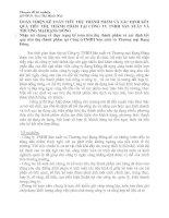 HOÀN THIỆN KẾ TOÁN TIÊU THỤ THÀNH PHẨM VÀ XÁC ĐỊNH KẾT QUẢ TIÊU THỤ THÀNH PHẨM TẠI CÔNG TY TNHH SẢN XUẤT VÀ THƯƠNG MẠI RẠNG ĐÔNG