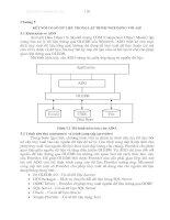 Kết nối CSDL trong lập trình web động với ASP