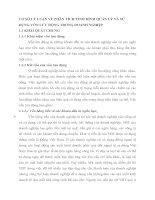 CƠ SỞ LÝ LUẬN VỀ PHÂN TÍCH TÌNH HÌNH QUẢN LÝ VÀ SỬ DỤNG VỐN LƯU ĐỘNG TRONG DOANH NGHIỆP