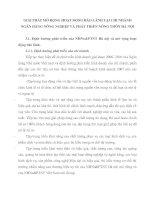 GIẢI PHÁP MỞ RỘNG HOẠT ĐỘNG BẢO LÃNH TẠI CHI NHÁNH NGÂN HÀNG NÔNG NGHIỆP VÀ PHÁT TRIỂN NÔNG THÔN HÀ NỘI