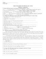 TEST 45-ENGLISH 8-KY 1-2