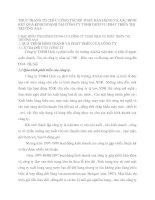 THỰC TRẠNG TỔ CHỨC CÔNG TÁC KẾ TOÁN BÁN HÀNG VÀ XÁC ĐỊNH KẾT QUẢ KINH DOANH TẠI CÔNG TY TNHH DỊCH VỤ PHÁT TRIỂN THỊ TRƯỜNG AAA