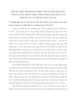 MỘT SỐ Ý KIẾN NHẰM HOÀN THIỆN CÔNG TÁC KẾ TOÁN TIỀN LƯƠNG VÀ CÁC KHOẢN TRÍCH THEO LƯƠNG TẠI CÔNG TY CỔ PHẦN ĐẦU TƯ VÀ THƯƠNG MẠI V.I.S.T.A.R